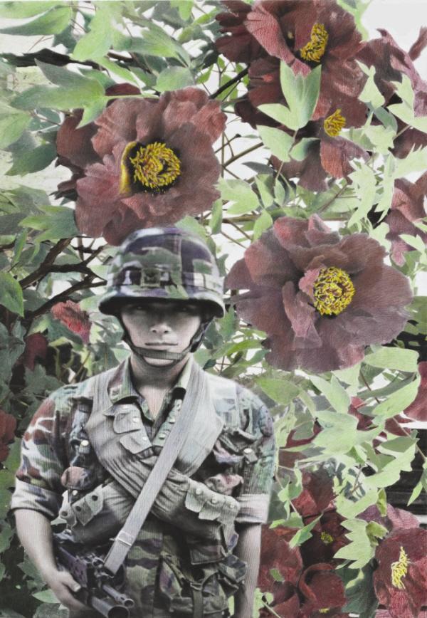 목단꽃 D.M,Z , 168x123.5cm,혼합재료,2009.jpg
