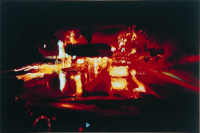밤길 A Road at Night 130.3x193.9cm Oil on Canvas 2001.jpg