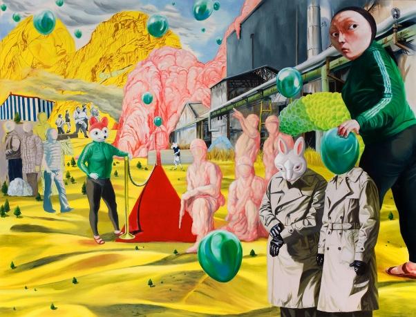 통합자 the unifier oil on canvas 210 x160cm 2010.jpg