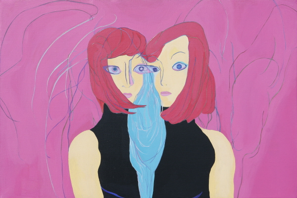 [순번1]Siamese Twins,  acrylic on canvas90.9×60.6cm  2012.jpg