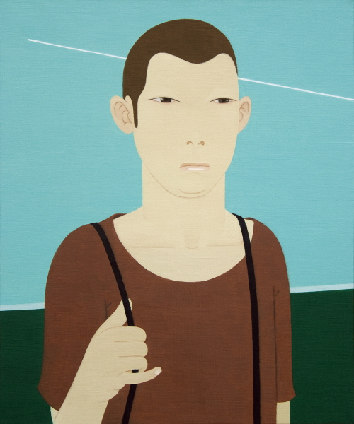 한 사람- 여행 oil on canvas 72.7cm x 60.6cm  2012.jpg
