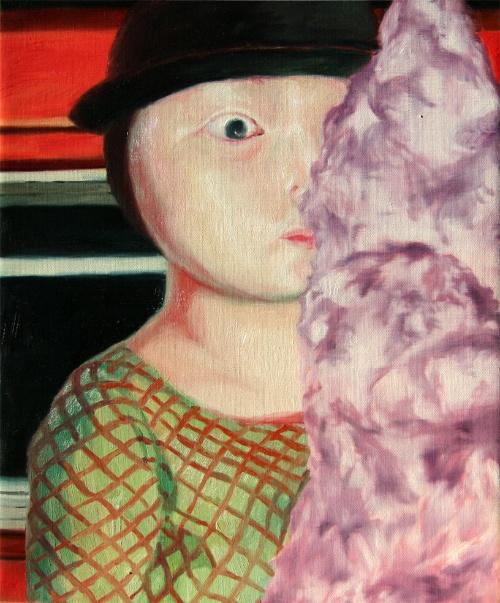 붉은 집the red house oil on canvas  37.9x45.jpg